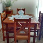 Conjunto Mesa e Cadeiras com Azulejo